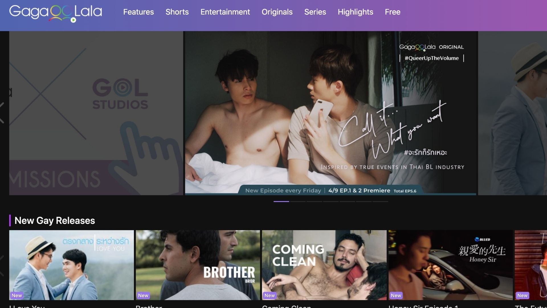 First LGBTQ streaming platform in Asia